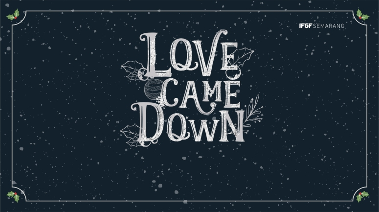 ppt love came down cover1