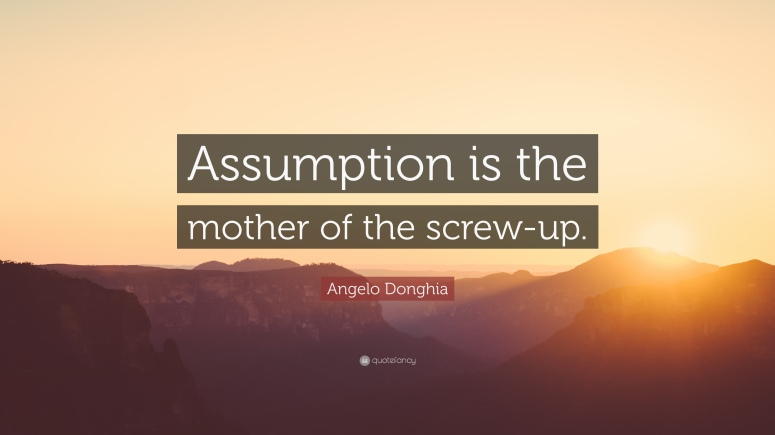 1646938-Angelo-Donghia-Quote-Assumption-is-the-mother-of-the-screw-up